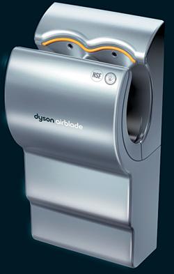 Hand Dryer: Dyson Airblade