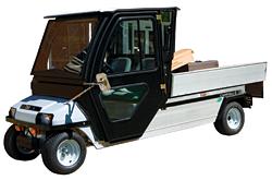 Electric/Gas Utility Vehicle: Club Car Inc.