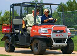 Four-Passenger Utility Vehicle: Kubota Tractor Corp.