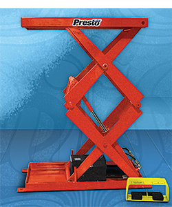 Compact Scissor Lifts: Presto Lifts Inc.