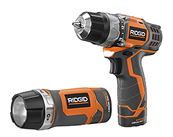 Two-Speed Drill: RIDGID