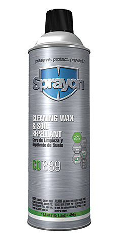 Cleaner/Repellant: Sprayon