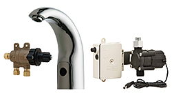 Electronic Faucet Turbine: The Chicago Faucet Co.