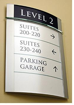 Sign System: APCO Sign Systems