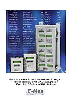 Smart Meters: E-Mon LLC