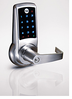 Touch Screen Access Locks: Yale Commercial Locks and Hardware