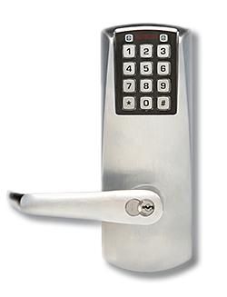 Pushbutton Lock: Kaba Ilco Corp.