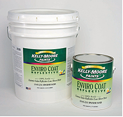 Heat-Reflective Paint: Kelly-Moore Paint Co. Inc.