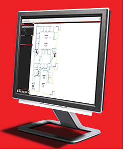 Fire-Alarm Monitoring Software: Silent Knight by Honeywell