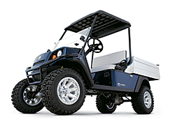 Four-Wheel Drive Utility Vehicle: Cushman
