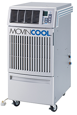 Water-Cooled Air Conditioner: MovinCool/DENSO Sales California Inc.