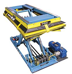 Facilities Management Material Handling: Scissor-Lift Table