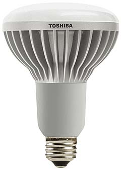 LED Lamp: Toshiba International Corp., LED Lighting Div.