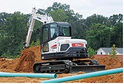 Excavator: Bobcat Co.