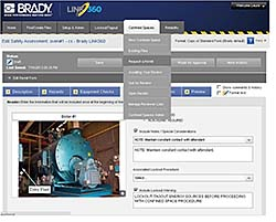 Safety Software Module: Brady Corp.