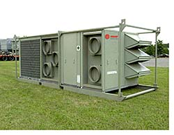 Packaged Air Conditioners: Trane Rental Services