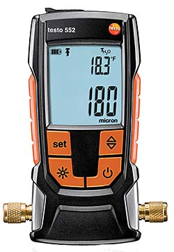 Digital Vacuum Gauge: testo Inc.