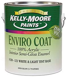 Zero-VOC Paints: Kelly-Moore Paint Co. Inc.