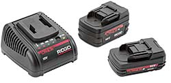Batteries: RIDGID