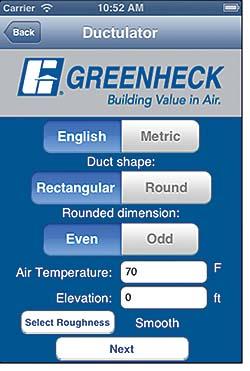 HVAC Mobile App: Greenheck Fan Corp.