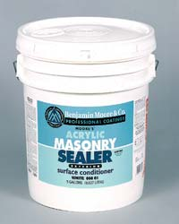 Masonry Sealer: Benjamin Moore & Co.