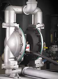 Diaphragm Pumps: Ingersoll Rand Security Technologies