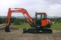Excavator: Kubota Tractor Corp.