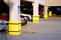 Parking Garage Bumpers: Sentry Protection Products