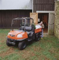 Utility Vehicle: Kubota Tractor Corp.