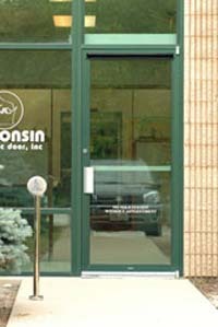 Door-Mounted Sensor: Nabco Entrances Inc.