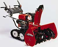 Track-Drive Snowblower: Honda Power Equipment