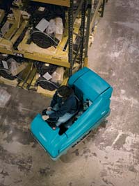 Floor Scrubber: Tennant Company