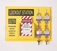 Lockout/Tagout Centers: North Safety Products