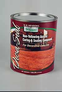 Concrete Sealant: W.R. Meadows Inc.