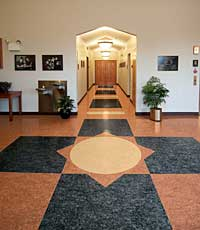 Linoleum Coating: Armstrong Commercial Flooring