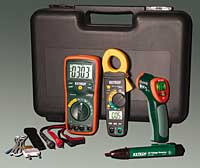 Electrical Testing Kit: Extech Instruments
