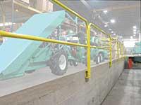Permanent Handrail: Garlock Equipment Co.