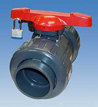 Ball Valve Locking Handle: Asahi/America Inc.