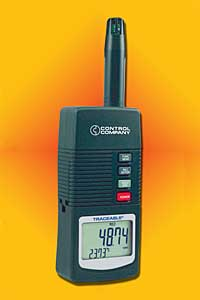 Hygrometer/Thermometer: Control Co.