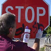 Anti-Graffiti Towels: SEI Chemical