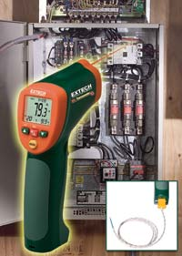Infrared Thermometer: Extech Instruments
