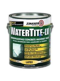Masonry Paint: Zinsser Brands, Rust-Oleum Corp.