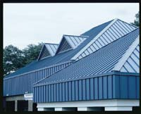 Metal Roof System: Liberty Building Systems