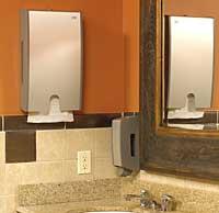 Towel Dispenser: Tork