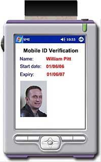 Portable Identity Card System: AMAG Technology