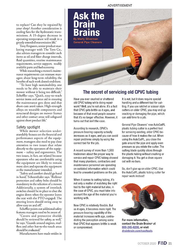 Facility Maintenance Decisions Magazine Issue