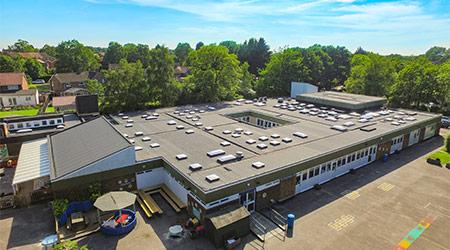 school roof