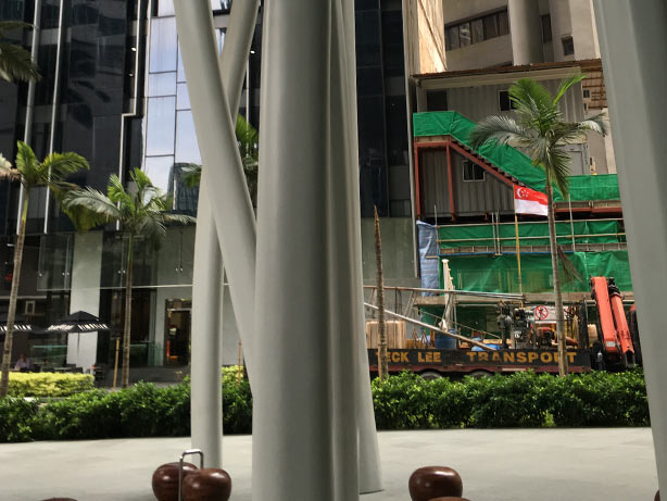 Singapore S Capitagreen Building Rising Like Plant