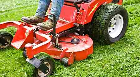 More Mower Options Mean Greater Sustainability