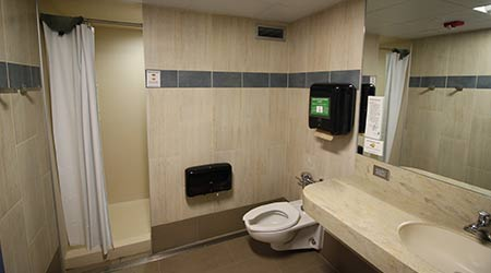 Residence Hall Restroom Renovations Eye Ada Compliance